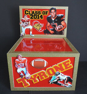 football gift card box