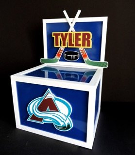 hockey gift card box