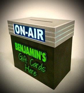 on air gift card box