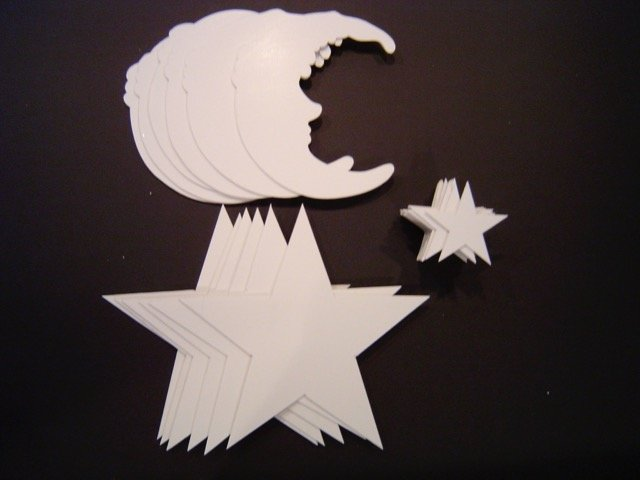 foamcore cutout shapes