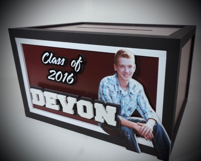 graduation gift card money envelope box 2016