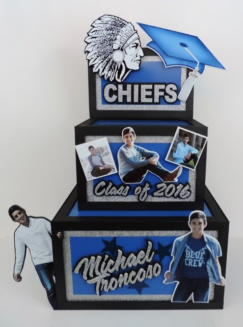 graduation gift card box